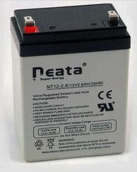 FADINI JUNIOR 624 - 632 - confezione n° 2 batterie 2.6Ah - 12V (OPTIONAL) solo per JUNIOR 624