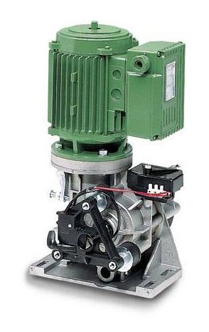 MEC 200 Motoriduttore - 211 - Apricancello scorrevole elettromeccanico per cancelli massimo 1250 kg, con motoriduttore trifase verticale da 0,5 Cv