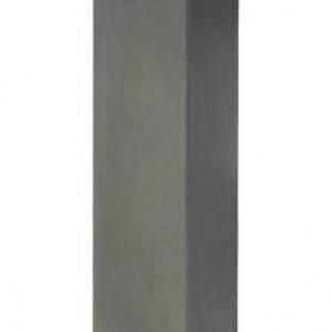 SIBLI 17 - 170 - Dissuasore manuale rimovibile, Colonna quadra 120 x 120 in acciaio inox