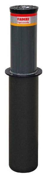 GASPO 252 - 2520 - Dissuasore a spinta manuale con colonna a scomparsa da 200 mm