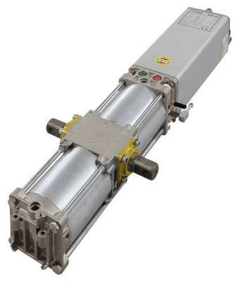 APROLI 480 - 481 - Apribascula contrappesata oledinamica automatismo completo di accessori