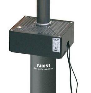 CORAL senza LED -1050 - Dissuasore a colonna a scomparsa in acciaio diametro 100mm, corsa 500mm