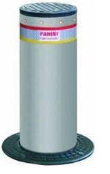 CORAL con LED -1054 - Dissuasore a colonna a scomparsa in acciaio diametro 100mm, corsa 500mm
