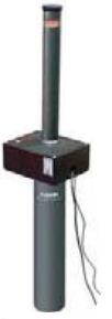CORAL senza LED -1080 - Dissuasore a colonna a scomparsa in acciaio diametro 100mm, corsa 800mm