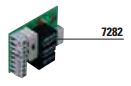 SCHEDINA SEMAFORICA - 7282 - Schedina semaforica fino a tre luci, per programmatori Elpro S40 ed Elpro 980