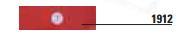 BAYT 980 - 1912 - Autoadesivi catarifrangenti rettangolari di colore rosso