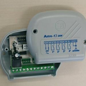 ASTRO 43 - 4327 - Radio ricevente da esterno Astro 43/1 ad autoapprendimento, con modulo relè per il 1° canale