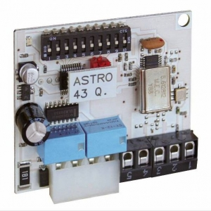 ASTRO 43 - 4329 - Scheda ad innesto Radio ricevente Astro 43/2 con oscillatore e due moduli relè 1° e 2° canale