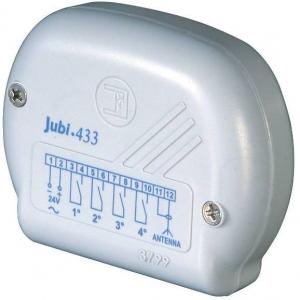 JUBI 433 - 4330 - Radio ricevente da esterno Jubi 433/1 R con risuonatore, con modulo relè a 1° canale