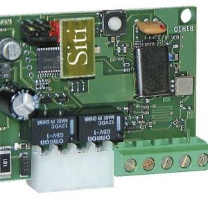 SITI 63 - 6311 - Scheda innesto Radio ricevente Siti 63/2 con risuonatore e con modulo relè per 1° e 2° canale