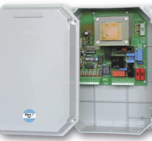 ELPRO 7 RP - 6610 - Programmatore elettronico Elpro 7 RP per NUPI 66, cancelli a battente