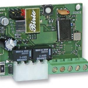 BIRIO 868 - 8611 - Scheda ad innesto Radio ricevente Birio 868/2 R con risuonatore, con modulo relè per il 1° e 2° canale