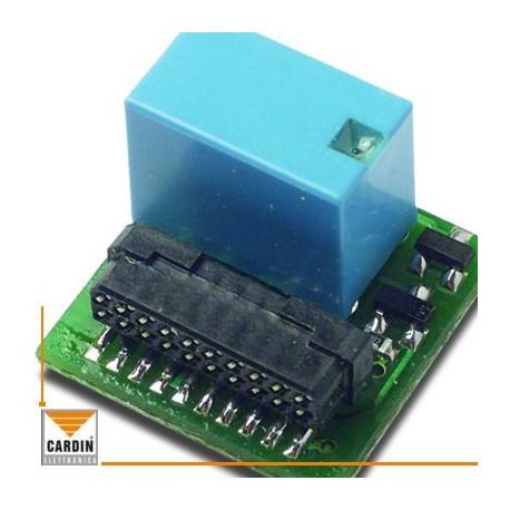 MCC4491R0 - CARDIN - Strip con 1 relè impulsivo contatto n.a.
